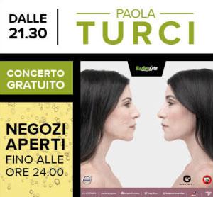 Concerto Paola Turci Mantova Outlet 26 agosto 2017