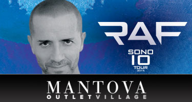 Concerto Raf Mantova Outlet Village 2015