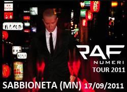 Concerto RAF Sabbioneta (Mantova) - Numeri Tour 2011