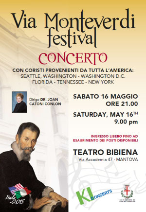 Concerto Via Monteverdi Festival Mantova 2015
