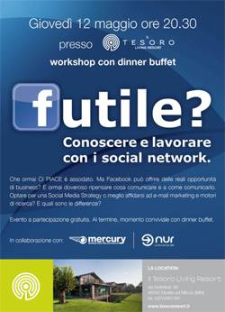 Workshop: Conoscere e lavorare con i social network - Mantova