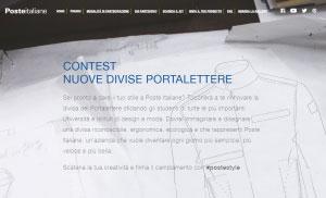 contest divise postini Poste Italiane 2016