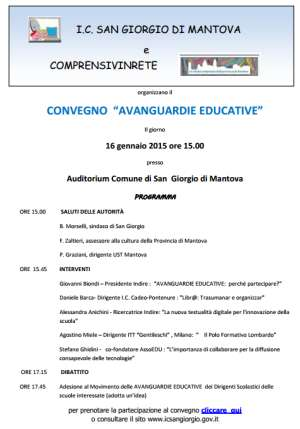 Avanguardie educative San Giorgio di Mantova