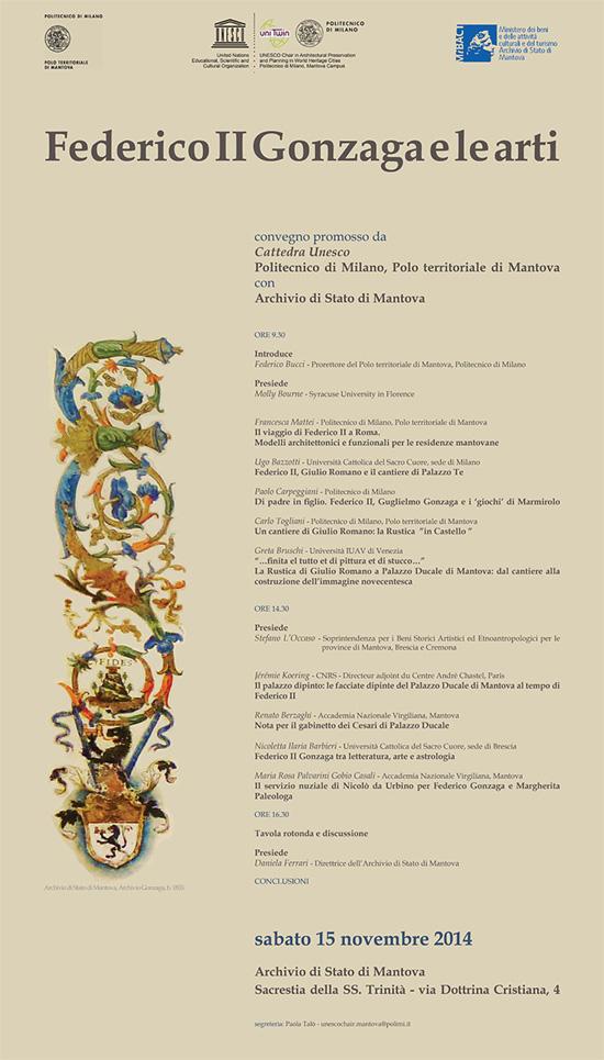 Convegno Federico II Gonzaga e le arti Mantova