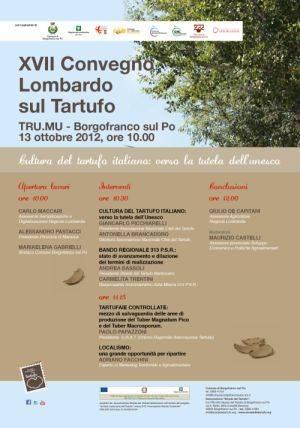 Convegno Lombardo sul Tratufo Borgofranco sul Po (Mantova)