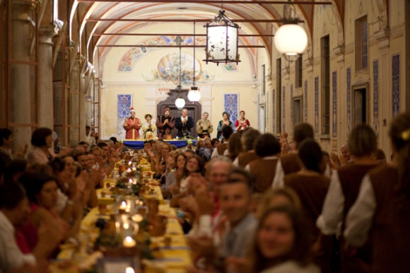 Convivio a Palazzo 2014 Ceresara (Mantova)