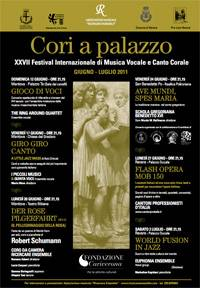 Cori a Palazzo 2011 Mantova, Revere, San Benedetto Po