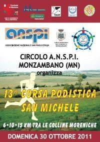 Corsa Podistica San Michele 2011 Monzambano (Mantova)