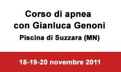 Corso Apnea Gianluca Genoni a Suzzara (Mantova)