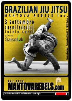 Corso Brazilian Jiu Jitsu Mantova Rebels