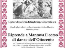 Corso Danze Ottocento Mantova 2017 2018