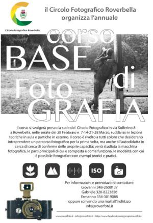 Corso fotografia base Roverbella (MN) 2017 Roverfoto