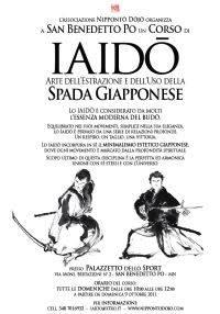 Corso Iaido Spada Giapponese a San Benedetto Po (Mantova)