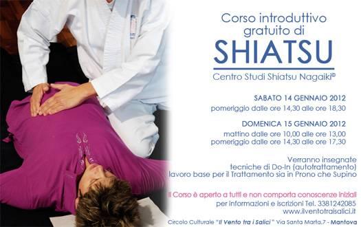 Corso introduttivo gratuito di Shiatsu Mantova