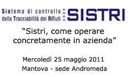 Mantova, corso Sistri come operare concretamente in azienda