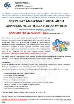 Mantova corso web marketing e social media marketing
