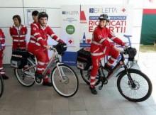 CRI Suzzara con bici pronto soccorso