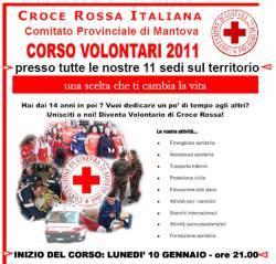 Corso Volontari Croce Rossa Mantova 2011