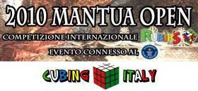 Cubo di Rubik: Mantua Open 2010