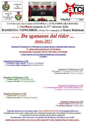 Da sganasas dal rider 2017 Scandolara Ravara (Cremona)
