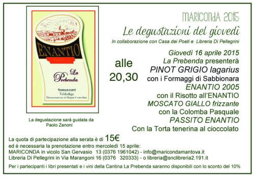 Degutazione vini Cantina Prebenda Mariconda Mantova