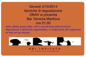 degustazione ONAV Bar Venezia Mantova