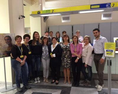 Dipendentui ufficio postale Mantova Centro