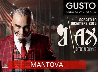 J AX dj set Mantova Gusto 2015