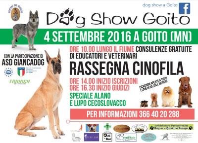 Dog Show Goito Mantova 2016