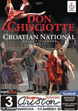 DON CHISCIOTTE Croatian National Ballet Theatre – Split