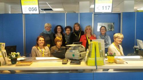 Donne ufficio postale Suzzara (Mantova) 2017
