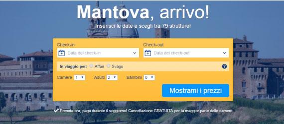 Dove dormire a Mantova centro o provincia