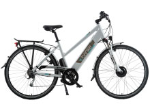 E-bike Brinke bicicletta pedalata assistita