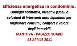Efficienza energetica in condominio - Mantova