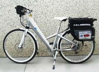 Ekletta di SSV Bici Elettrica Croce Rossa Italiana CRI