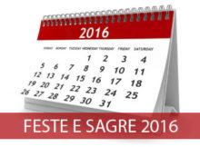 elenco feste e sagre 2016 Mantova provincia