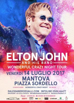 Concerto Elton John Mantova 2017