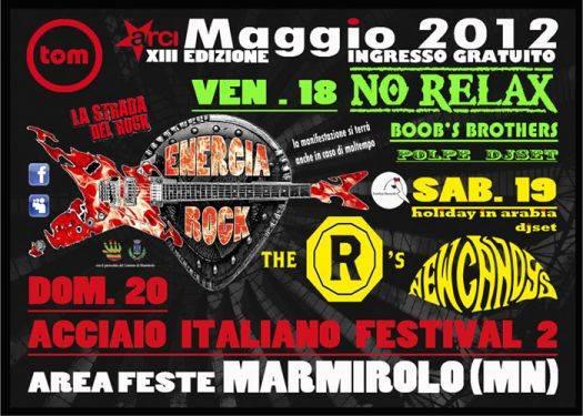Energia Rock 2012 Marmirolo (Mantova)