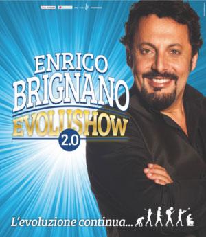 Enrico Brignano Evolushow 2.0 Mantova 2016