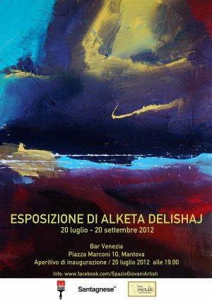 Esposizione di Alketa Delishaj Mantova (Bar Venezia)
