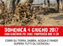 Expo Run 2017 corsa sporca mud run San Giacomo Po Mantova