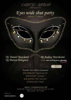 Eyes Wide Shut Party - Dandy Club Bagnolo (Mantova)