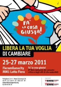 Fa la Cosa Giusta! 2011 Milano Fiera