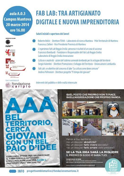 Fab Lab Mantova 2014
