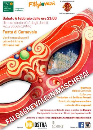 FAI Carnevale in Maschera Mantova 2016
