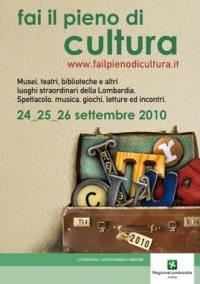Fai il Pieno di Cultura 2010 Mantova e Provincia