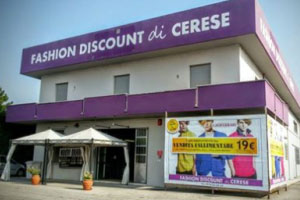 Fashion Store di Cerese di Borgo Virgilio (MN)