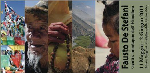 Mostra Fausto De Stefani Genti e montagne dell'Himalaya a Castiglione delle Stiviere (Mantova)