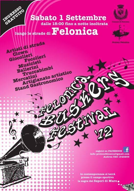 Festival Buskers Felonica (Mantova) 2012