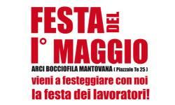 Festa 1 maggio 2012 Mantova Arci Bocciofila